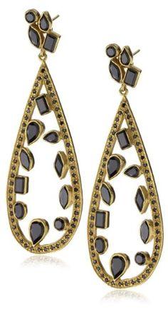 "MELINDA MARIA ""Gwyneth Collection"" Floating Mosaic Earrings"