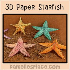 3D Paper Starfish