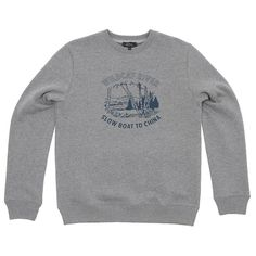 A.P.C. Wildcat Sweat (Grey Melange)
