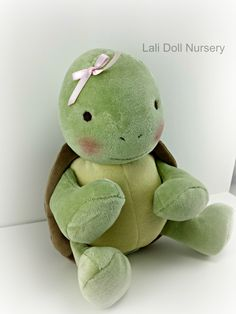 Lettuce the Turtle doll - in shop now!
