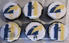 Jake's Cakes: West Coast Eagles cupcakes