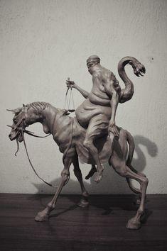 ArtStation - Four Horsemen of the Apocalypse, Sadan Vague Apocalypse Tattoo, Apocalypse Art, Horsemen Of The Apocalypse, Mythological Creatures, Fantasy Creatures, Mythical Creatures, Traditional Sculptures, Demon Art, D&d Dungeons And Dragons