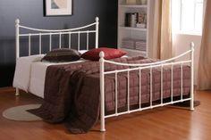 Sleepy Dreams Alderley Ivory Metal Kingsize Bed Frame