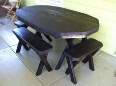 picnic table - $275 (Grant Park)