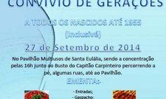 Santa Eulália acolhe «Convívio de Gerações» para nascidos até 1955