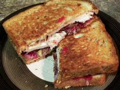 Best Thanksgiving Leftovers Sandwich