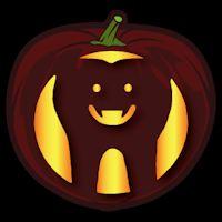 American dad pumpkin stencils available at for Vampire teeth pumpkin stencils