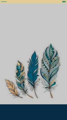 Lockscreen feather vintage