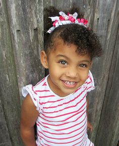 Hailey. 3 yrs old.  mixed baby. biracial. curly hair