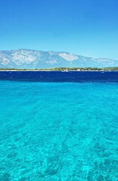 Cleopatra Island. Turkey---I need to go here in the next few days when the temp reaches triple figures.