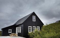 The Quiet Beauty of the Black House.This beautiful house was designed by Rut Karadottir and inspired by the 18th century coastal houses of the region. Located on the western coast just outside of the town of Borgarnes, and just an hour from Reykjavik, is the perfect getaway for those design-minded vactioners looking for something a little different.
