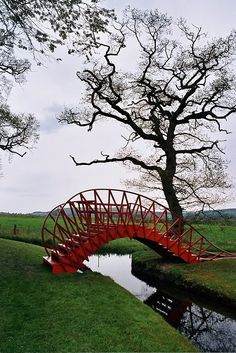 The Garden of Cosmic Speculation is at Portrack House, near Dumfries in South West Scotland.