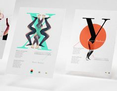 Year made: 20112nd year projects of my courseThis poster series is a tribute to the BAUER BODONI typeface. Bauer Bodoni often appears with the company of the models, in the fashion and glamour magazines/photography. I created a series of posters where …
