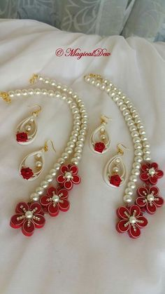 Image result for paper quilling jewellery