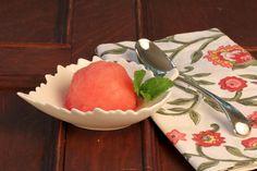 Watermelon Sorbet...Holiday Recipe Club