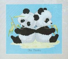 90s Endangered Young'uns Counted Cross Stitch Kit by CloesCloset