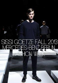 Sissi Goetze Fall/Winter 2013 - Mercedes-Benz Berlín Fashion Week ~ Menswear Scene