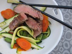 Boeuf Tériyaki Paléo Sans Gluten Ni Lactose, Paleo Recipes, Steak, Cooking, Food, Teriyaki Beef, Projects, Recipes, Kitchen