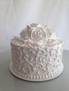 buttecream flower cake