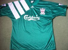 1992 1993 Liverpool Adults Large Centenary Away Football Shirt