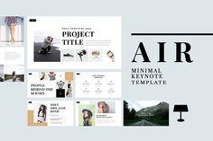 Air Minimal Keynote Template @creativework247