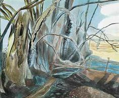 EDWARD BAWDEN, R.A. (1903-1989) THE EDGE OF THE WOOD #tree #art