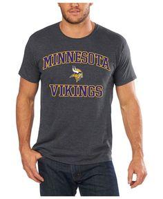 Profile Men's Big & Tall Minnesota Vikings Heart and Soul T-Shirt