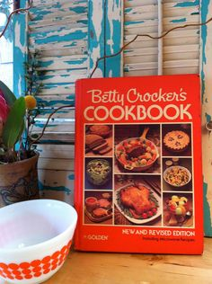 Betty Crocker Cookbook Cook Book Retro Recipes  Dinner Party  FALL Thanksgiving Mad Men Easter. $15.50, via Etsy.