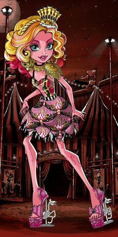 Monster High Freak du Chic Gooliope Jellington Artwork