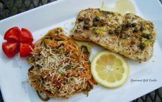 Gourmet Girl Cooks: Pan Seared Halibut w/ Lemon, Garlic & Herb Butter ...