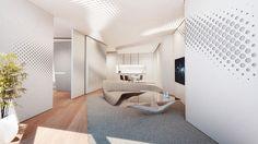 See Inside Dubai's Opus Office Towers, Where Zaha Hadid Designed Her First Hotel