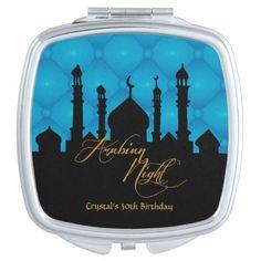 Arabian Night, 30th Birthday Custom Compact
