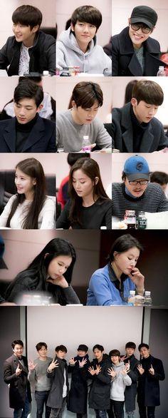 Moon Lovers // Baekhyun looks so small its so cute i cant wait
