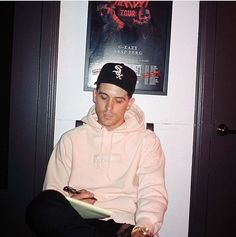 Young Gerald working on his new album