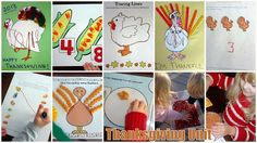 Thanksgiving Unit (toddlers + preschoolers)