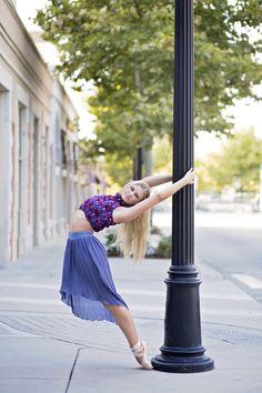 dance photography ballet en pointe senior portrait ideas for girls