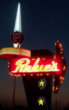 Pinkie's Liquor Store in Odessa, Texas.