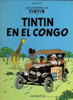 """""""Tintín en el Congo"""" Hergé"""