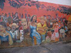 Santiago - La Piojera. Arte Callejera
