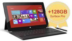 Surface Pro Get Additional 128GB Storage ~ via cybershack.com