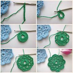 The Maybelle Crochet Flower