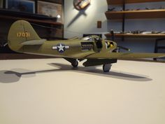 Scale model aircraft - P-39 Airacobra Fighter 1/48 scale Revell
