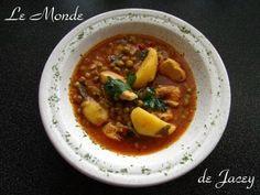 Marga Jilbana. Typisch tunesisch/arabische Gerichte sind die Margas (Eintöpfe). Man kann sie…