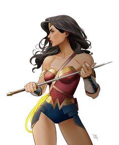 Wonder Woman by Dan Mora
