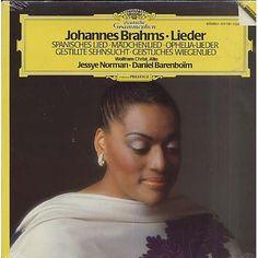 Johannes Brahms, Lieder - Jessye Norman, Daniel Barenboim