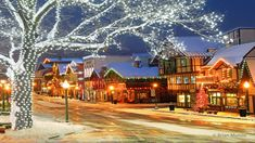 Bourbonville at Christmas Frankenmuth Michigan, Leavenworth Washington, Snowmobile Tours, Western Washington, Washington State, Christmas Concert, Seattle Times, Ice Climbing, Over The River