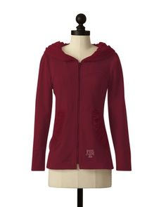 Texas A & M Aggies | Hooded Comfort Jacket | meesh & mia