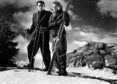 Gregory Peck and Ingrid Bergman in Spellbound (1945)