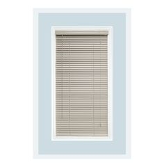 Aluminum Window Blind; Color - Off White; Manufactured by Delta Blinds Supply in USA