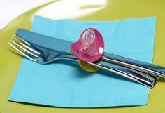 cute Pacifier Baby Shower Idea!